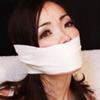 長谷川葵-倒錯の人妻-その4ラップアラウンドテープギャグ