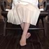 【脚/足フェチ】打ち合わせ中のモデルの脚No.1